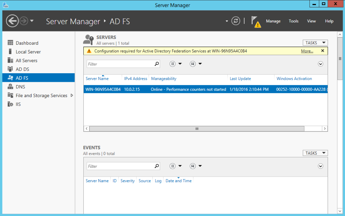 Configuring Windows Server with AD FS for GoodData SAML SSO